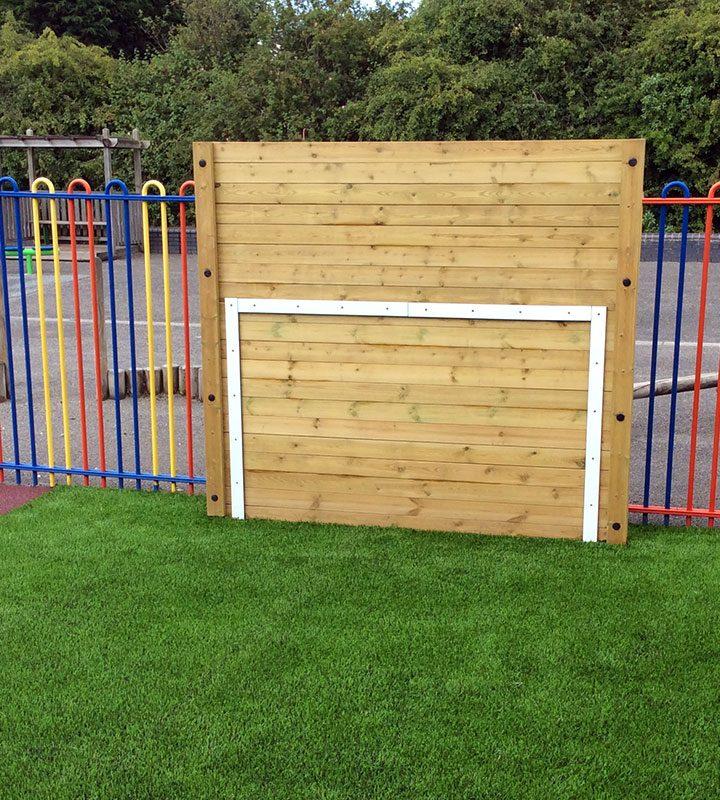 Timber Target Wall