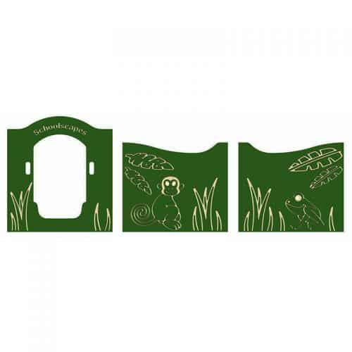 Jungle Themed Play Tower Panels