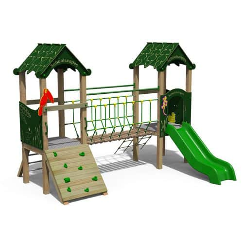 Jungle Themed Double Play Tower
