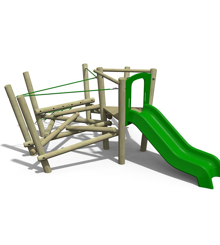 Pick Up Sticks (Three) Playground Climber