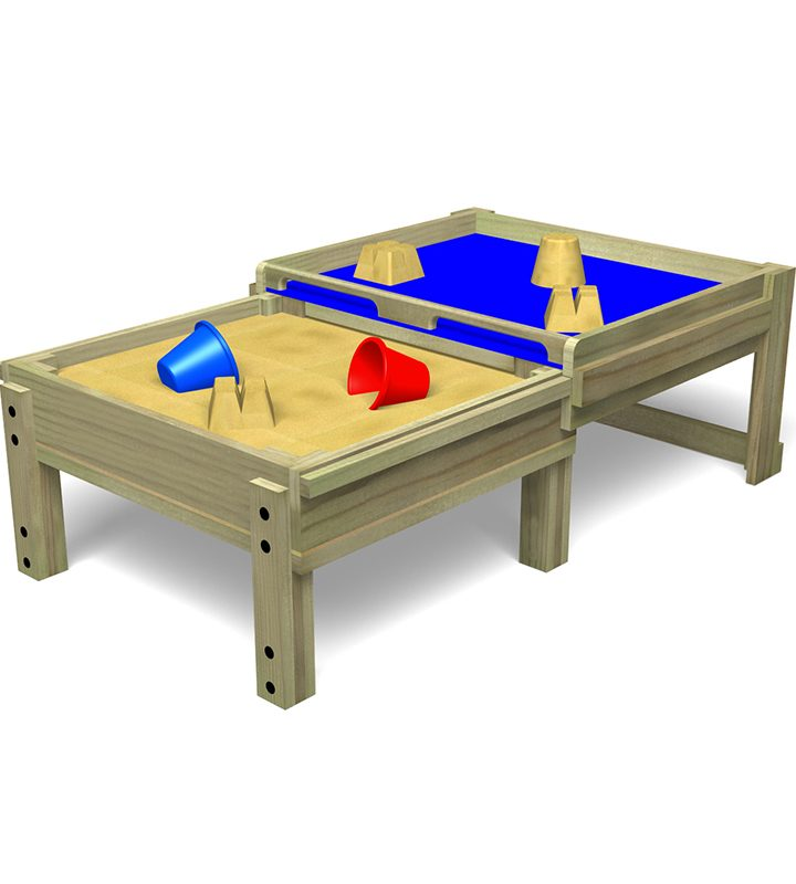Sandpit Table With Sliding Lid