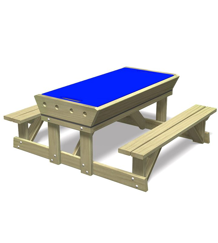 Sit and Play Sandpit Table (Closed)