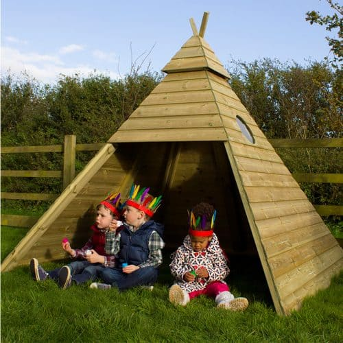 Outdoor Timber Teepee