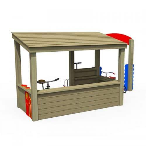 Playtime Garage (Back)