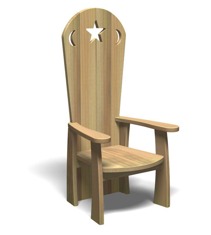 Storyteller's Chair (Front)