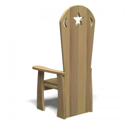 Storyteller's Chair (Back)