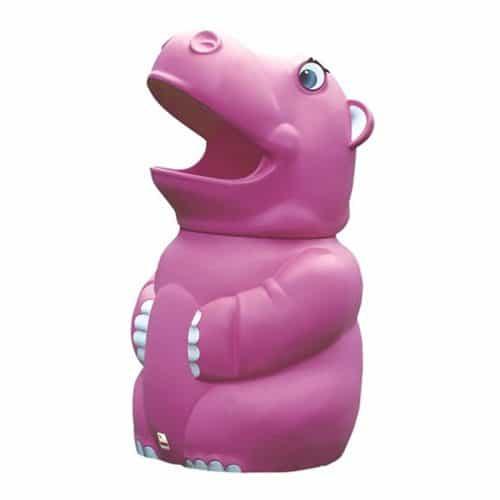 Henrietta Hippo School Litter Bin