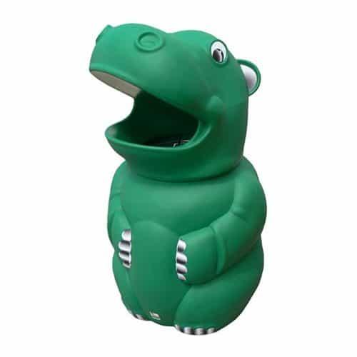 Hugo Hippo School Litter Bin