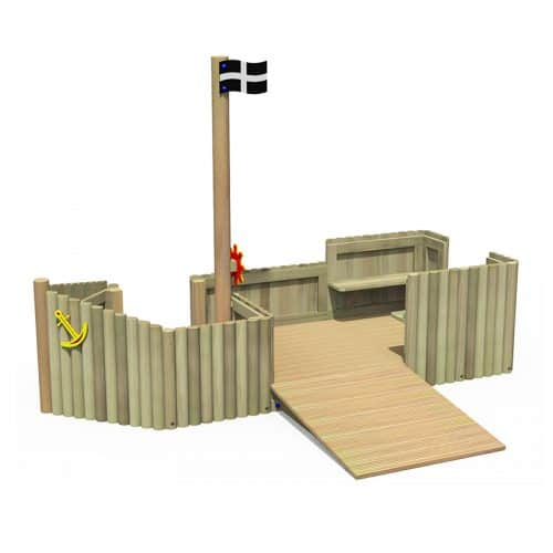 Log Play Ship (Front)