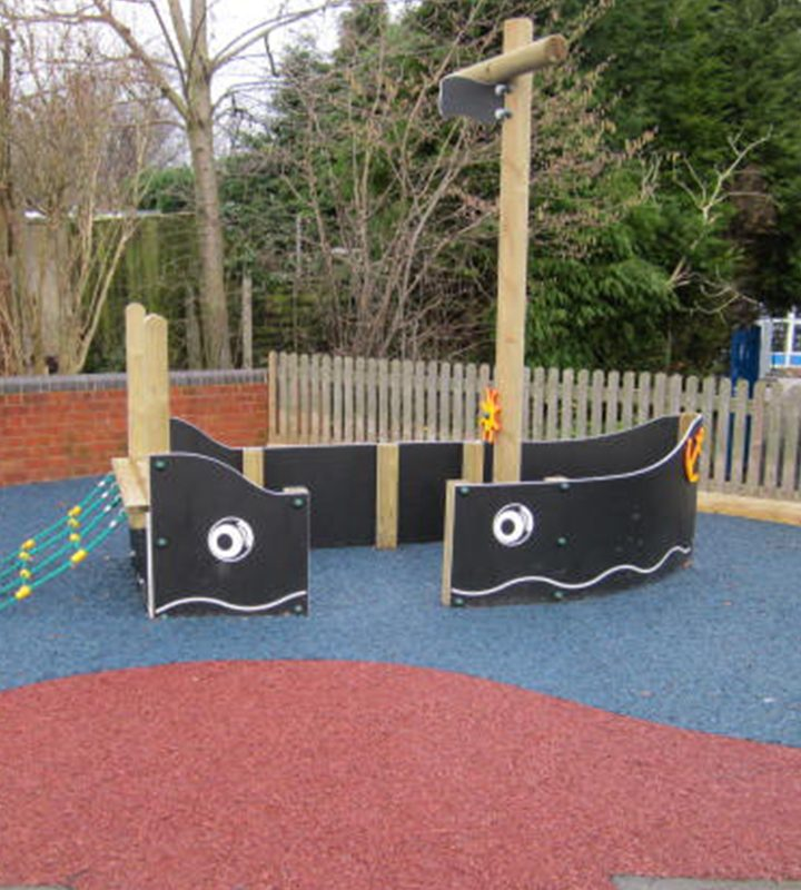 Outdoor Play Pirate Ship