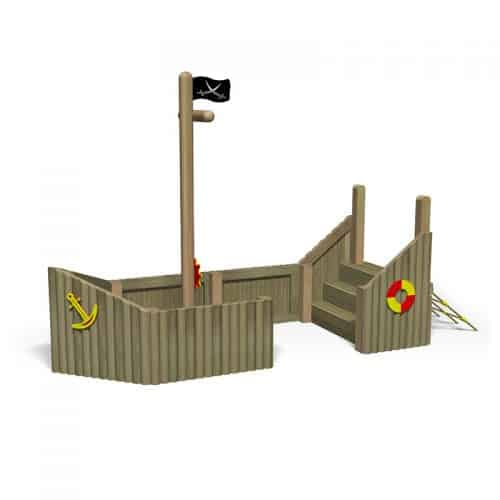 Log Play Trawler with Scramble Net (Front)