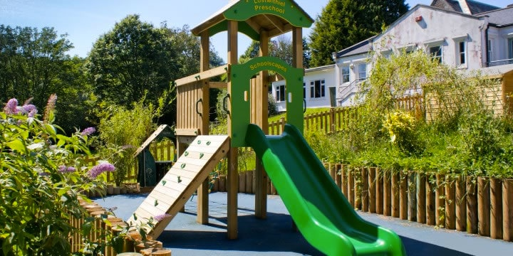 Lostwithiel School - Sensory and Active Play Space