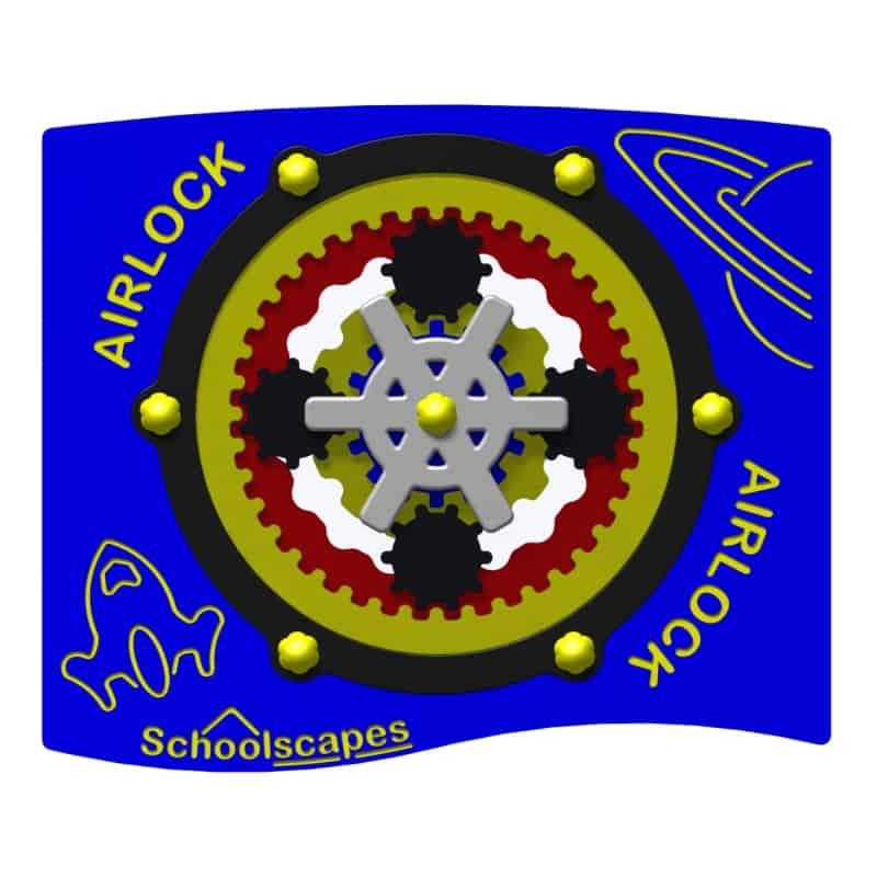 Rotating Airlock Panel