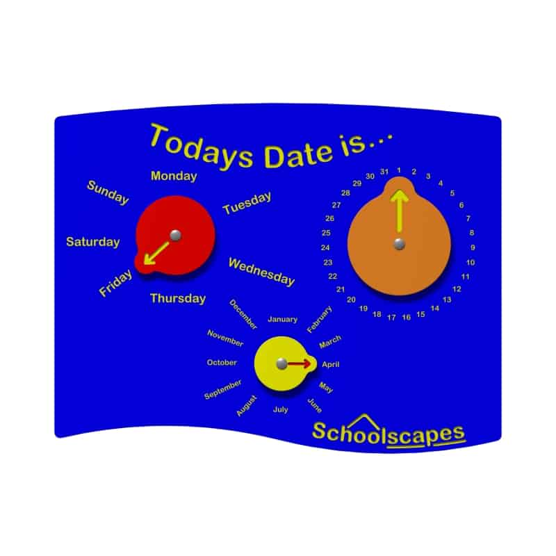 Todays Date is... Panel