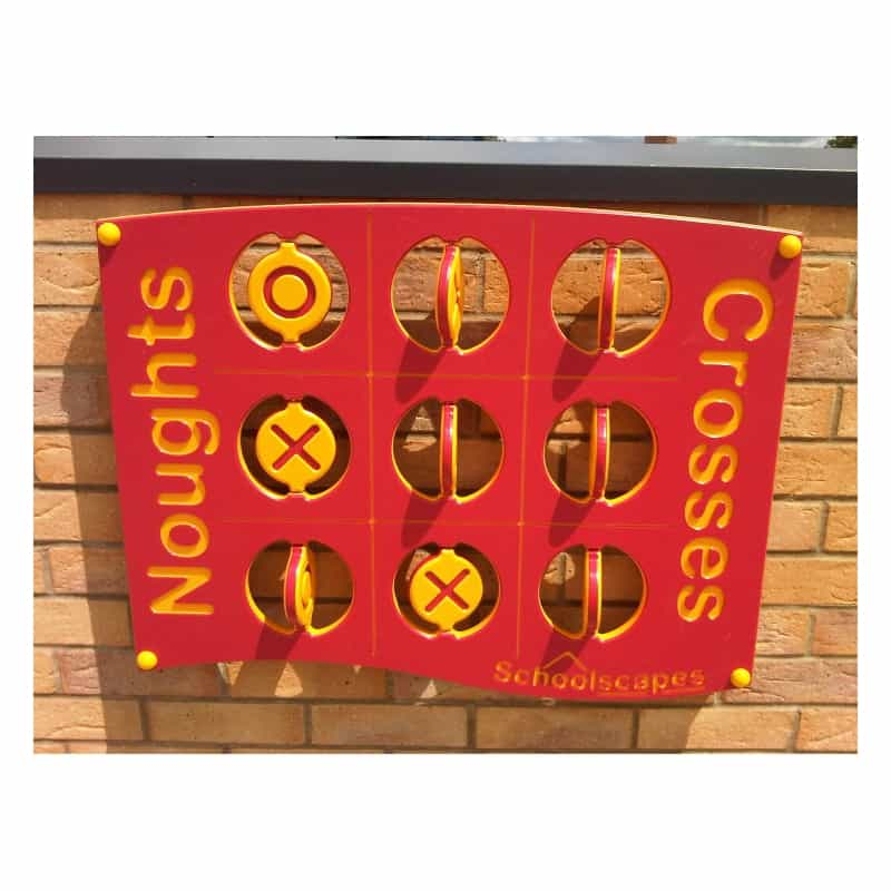 Flip Over Noughts & Crosses Panel