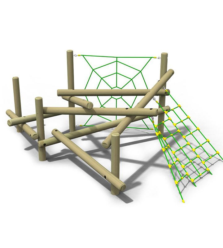 Pick Up Sticks (Four) Web & Net