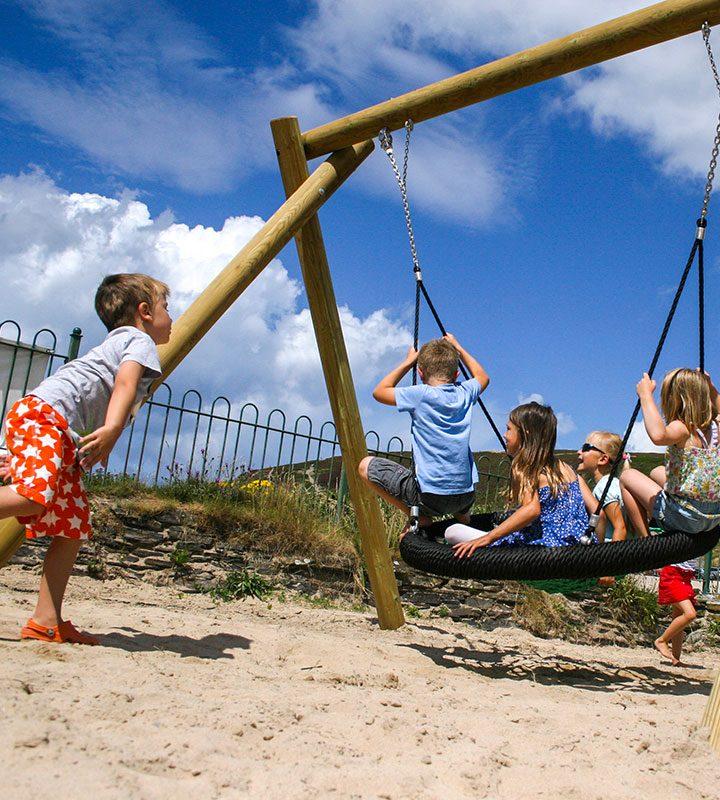 EagleNestSwing PlaygroundSwingsandZipWires