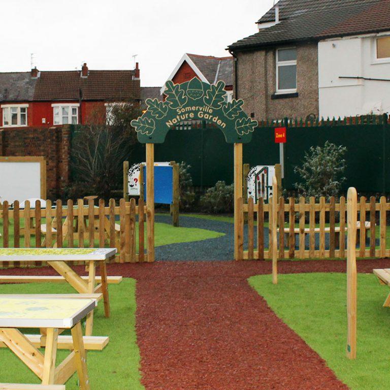 Playground Garden Arch