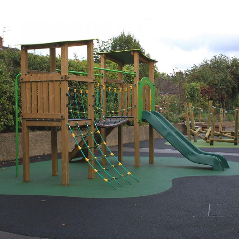 TimberBeaconDoubleTower SchoolPlaygroundTower