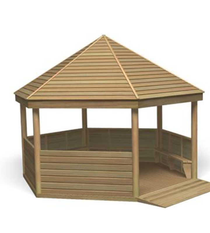 Gazebo With Added Access
