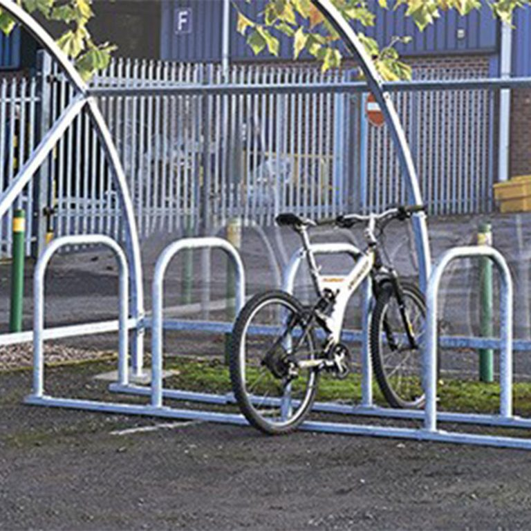 Box Hoops Cycle Stand