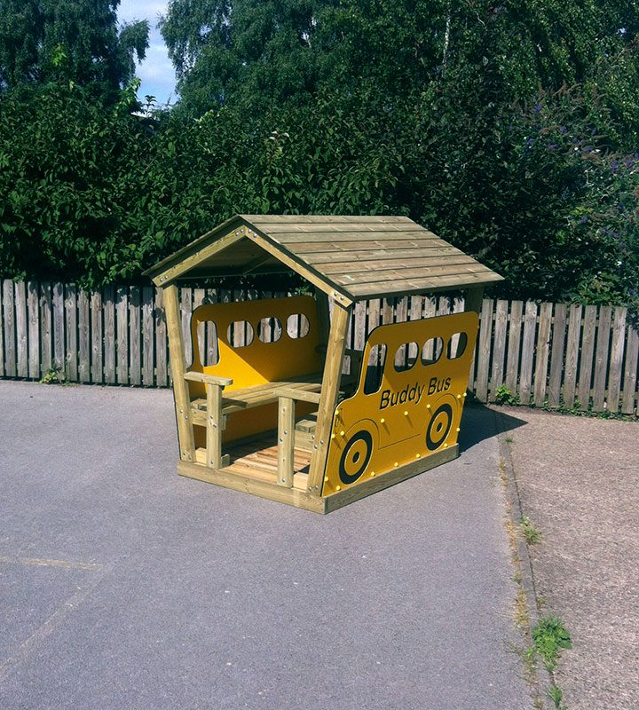 Buddy Bus Hut