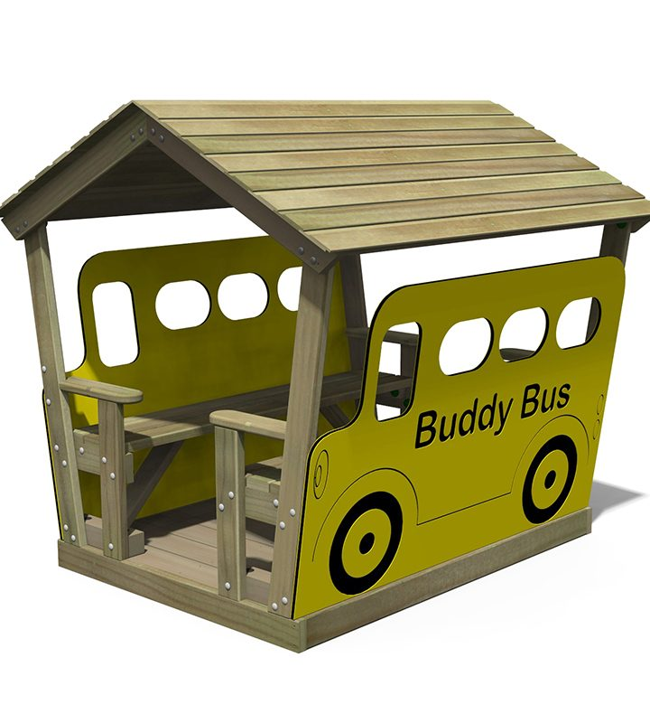 Roofed Buddy Bus Hut