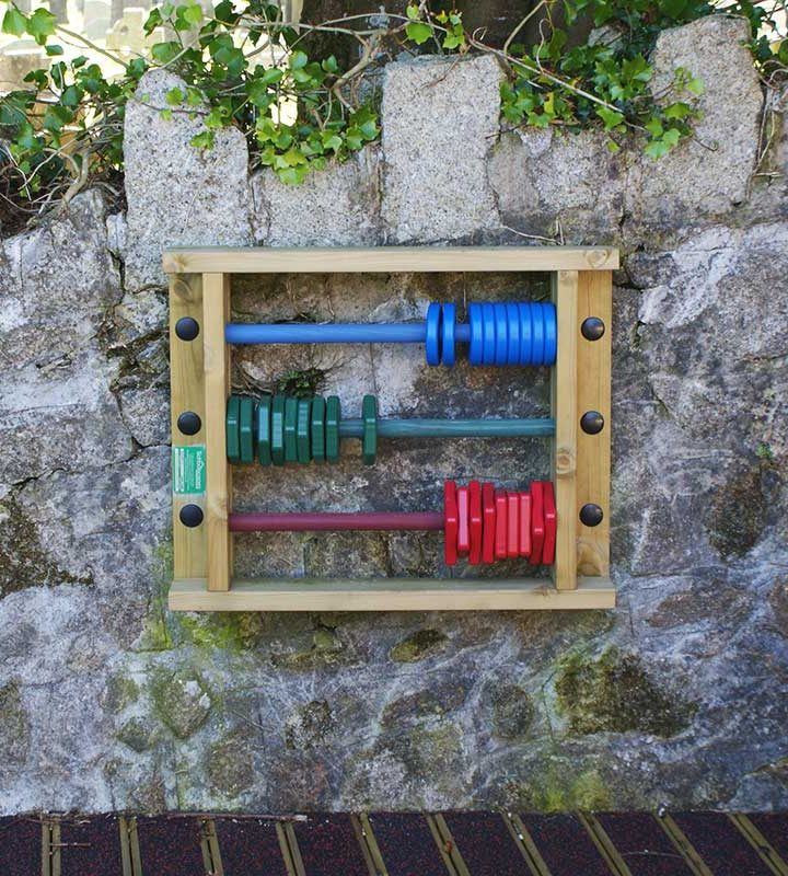 Giant Abacus - Wall Mounted