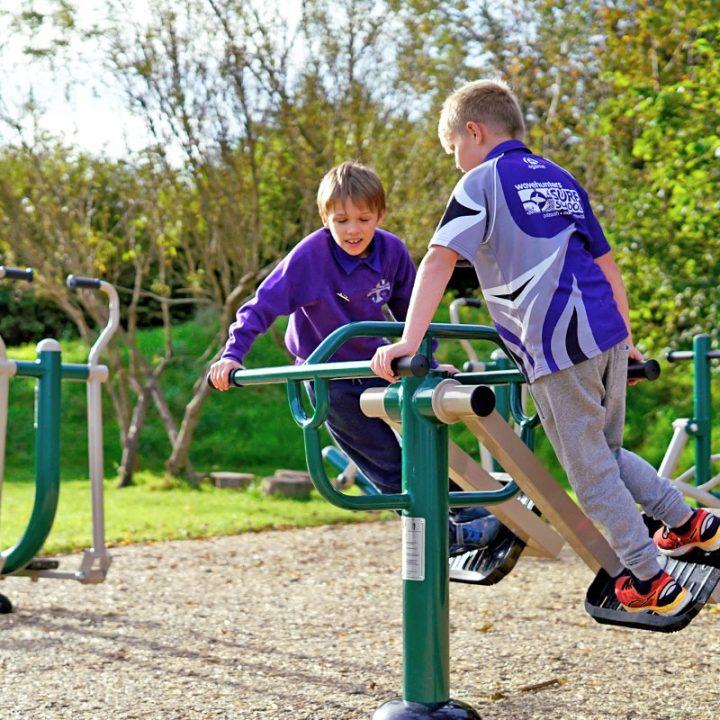 Children's Air Skier - Outdoor Gym Equipment