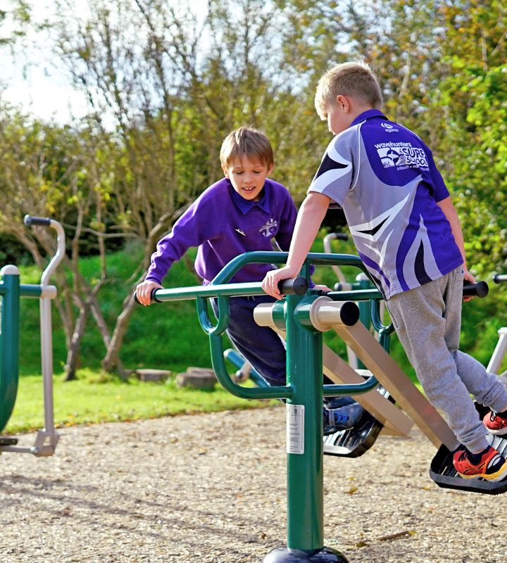 Children's Air Skier - Outdoor Gym Equipment