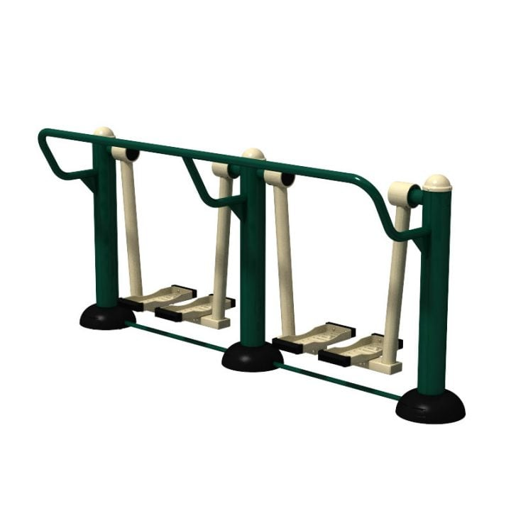 Outdoor Children's Gym Equipment - Air Skier