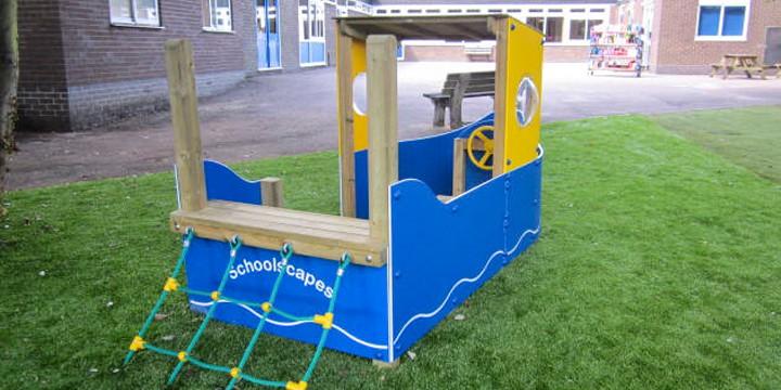 Greystoke Primary School Early Years Imaginative Play Space