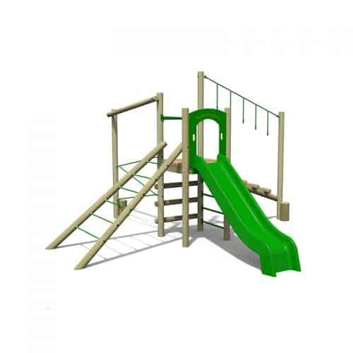 Treetops Two Playground Climbing Tower