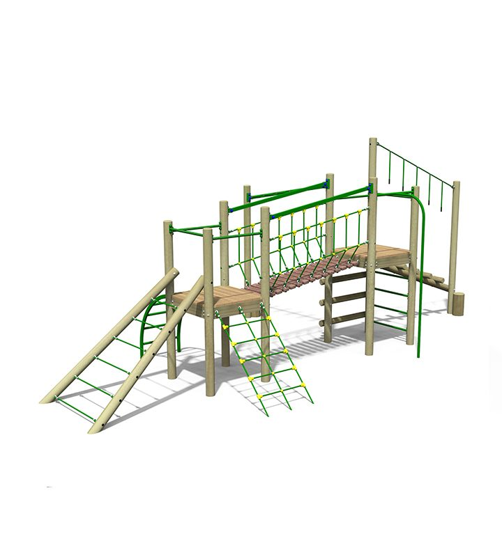 Treetops Five Multi Level Play Unit