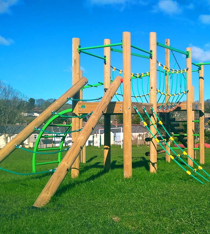 Treetops Five Play Tower