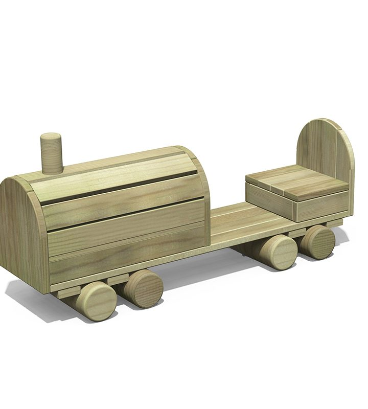 Timber Locomotive