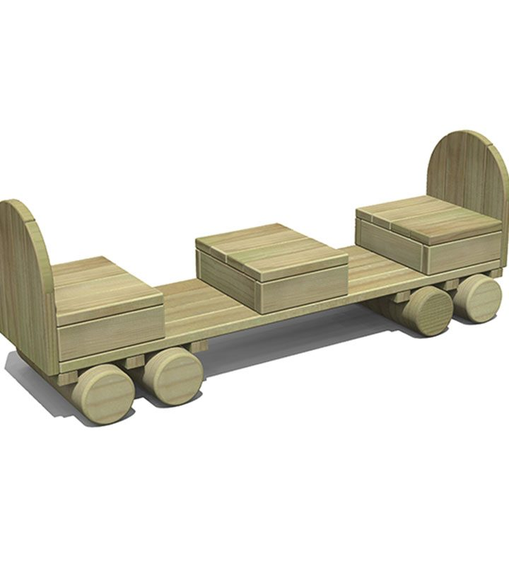 Timber Passenger Carriage