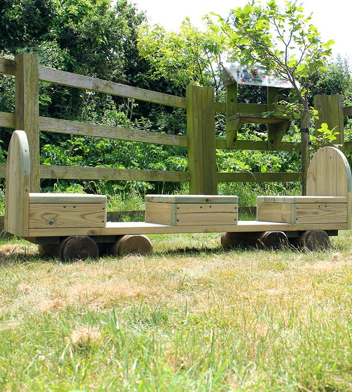 Outdoor Passenger Play Carriage