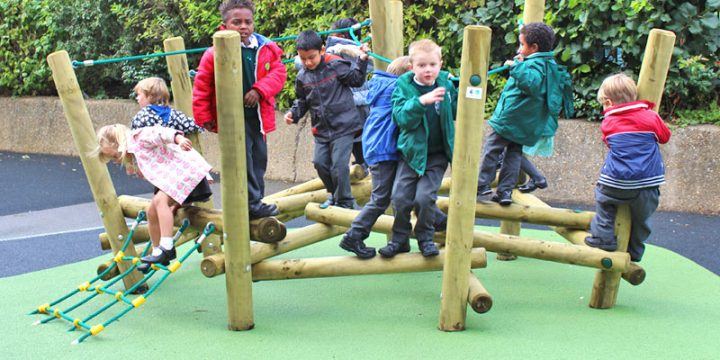 Knutsford Primary School - Inspiring Active Play Space