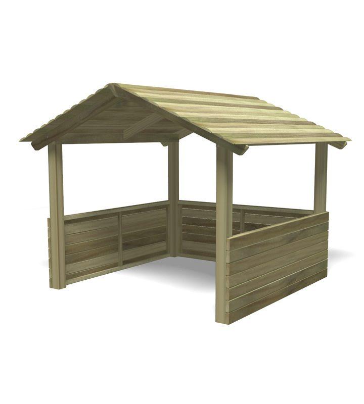 Jumbo Roofed Cabin
