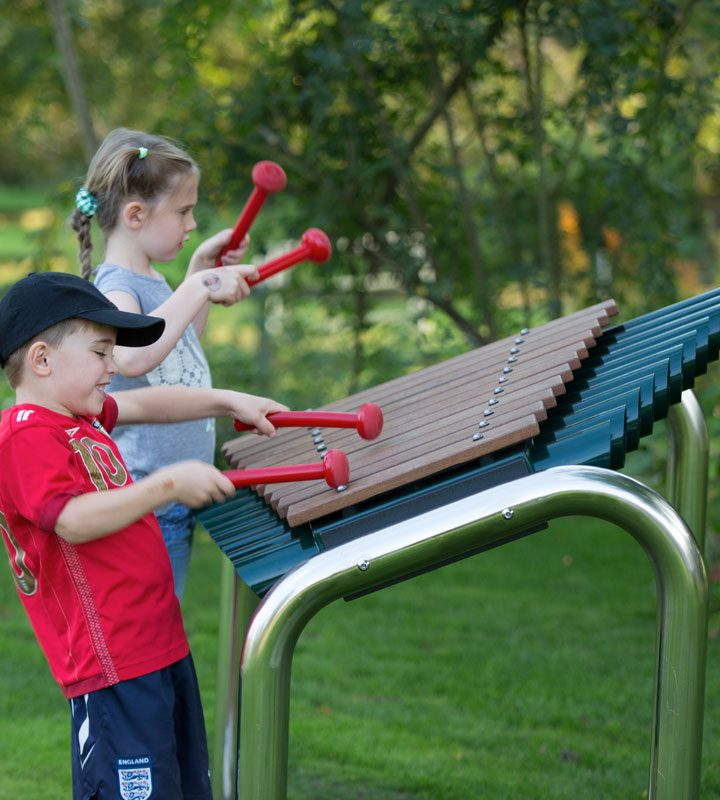Large Marimba Outdoor Musical Play