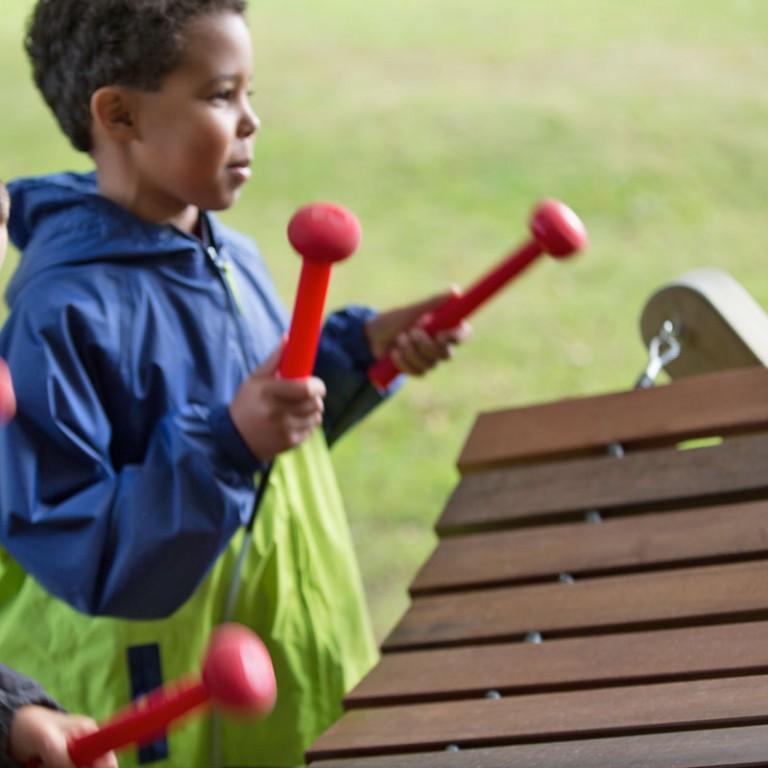 Akadinda Outdoor Musical Instrument