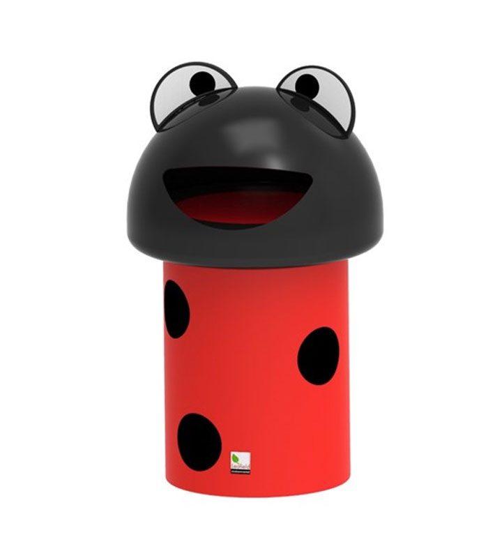 Ladybird Litter Bin