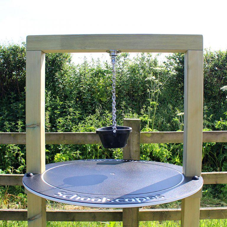 Timber Frame Sand Pendulum