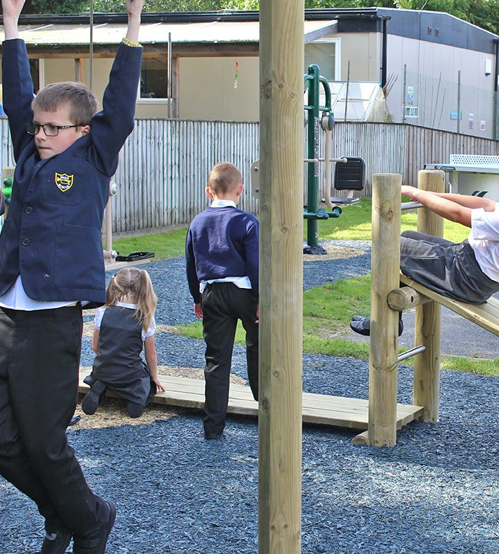 Multi Gym 2 - Outdoor Gym Space for Schools