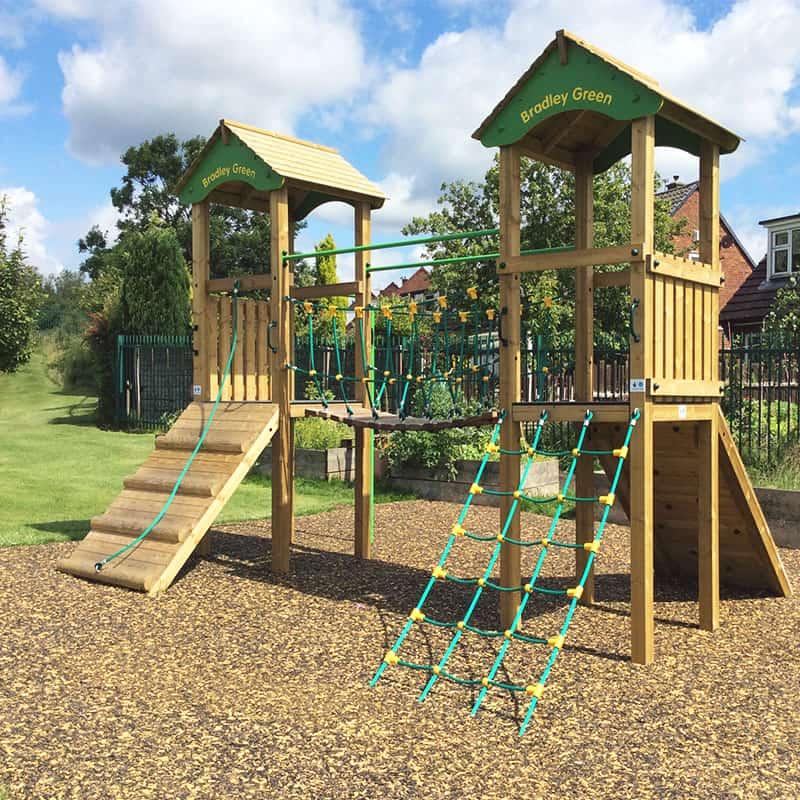 Bradley Green Personalised Playground Tower