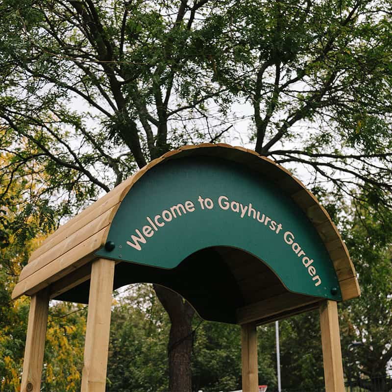 Gayhurst Personalised Playground Arch