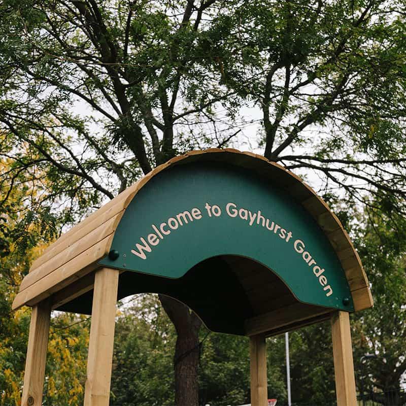 Gayhurst Personalised Playground Arch