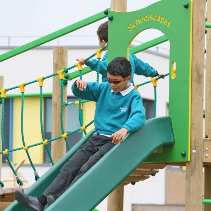 Treetops Four Climbing and Sliding Activities