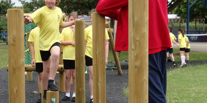 How Wood Primary School Fitness Trail